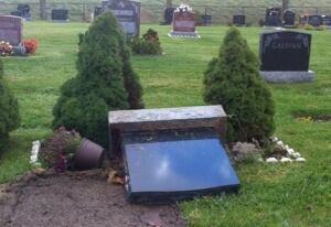 Mount Hamilton tombstone