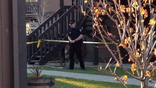 Police charged a 23-year-old man in the fatal stabbing of Harvey Rob Frenchman, 20, at the Carriage Lane condo complex in west Edmonton Friday morning.