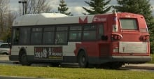 OC Transpo bus (Nov. 1, 2013)