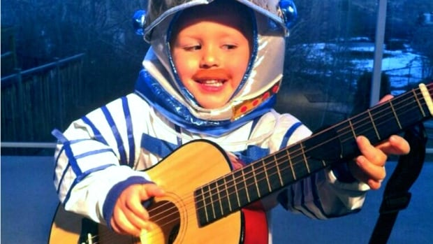Geoff Oliphant sent us this picture of his four-year-old son, Zan — a.k.a. mini Commander Chris Hadfield. Oliphant says he had 28 trick or treaters come to his home in Tuscany.