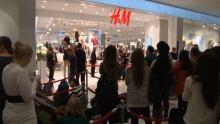 H & M lineups in Ottawa