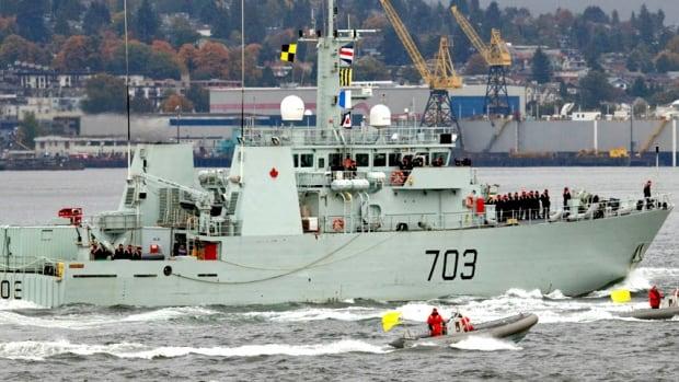 CANADA/ HMCS Edmonton navy