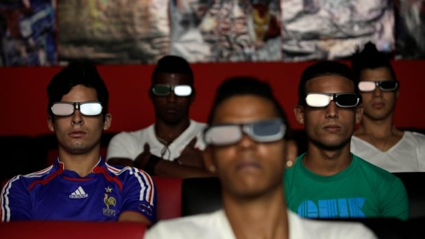 Cuban entrepreneurs have quietly opened dozens of backroom video salons over the last year, many showing 3D movies.