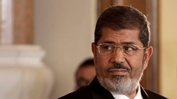 Former Egyptian president Mohammed Morsi faces charges of inciting the killing of protesters.