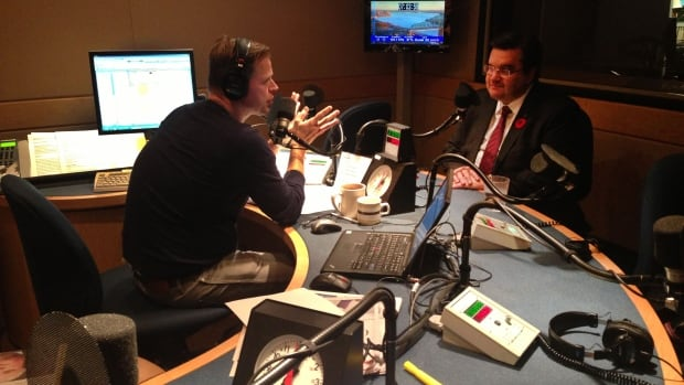 Denis Coderre visited CBC Montreal's Daybreak studio Monday morning. He said he's ready to get to work right away.