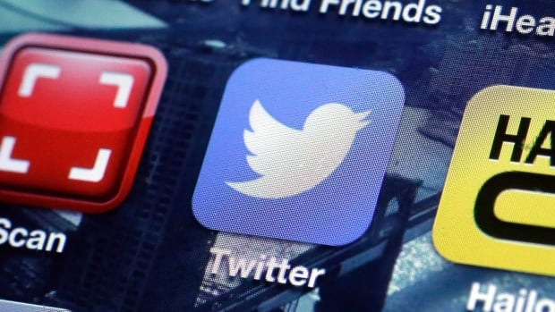 A Twitter app on an iPhone screen in New York. The company has raised its share price to $23 to $25 ahead of its IPO Thursday in New York.