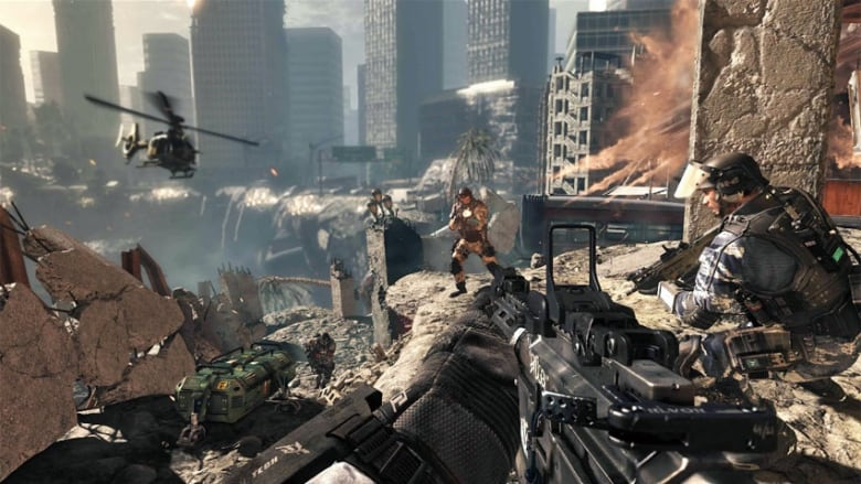 Call Of Duty Ghosts Shakes Up Venerable Video Game Cbc News