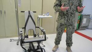 Guantanamo feeding chair