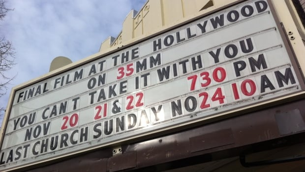 Advocates worry that the Hollywood Theatre will show its last films this month, if a plan to redevelop it as a fitness facility proceeds.