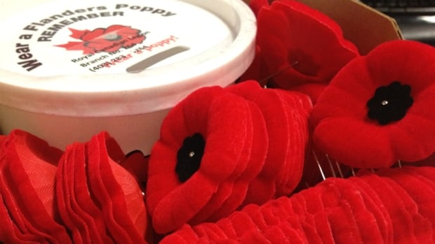 The Royal Canadian Legion is reminding the public to only donate money for poppies to people authorized to distribute them
