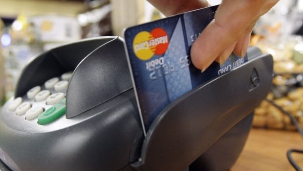 Canadians boosted credit card and line of credit debt by three per cent in the year to April.