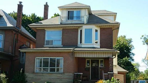 This home in the Delta West neighborhood is up for sale, and represents the average home price. It's five bedrooms, two baths and 2.5 storeys. It could be yours for $379,900.