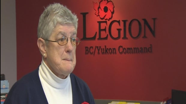 B.C. and Yukon Poppy Fund Coordinator Joanne Henderson says every year, donation boxes are stolen.