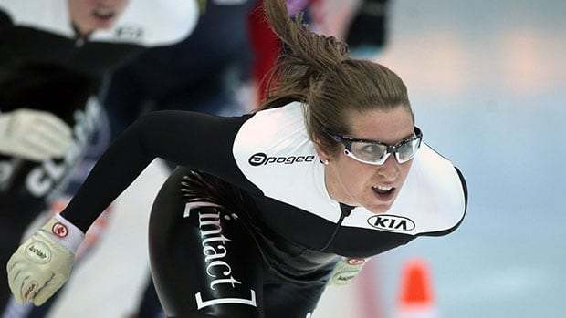 Speedskater Ivanie Blondin's parents are worried about her safety competing in the 2018 Winter Olympics because of rising tension in North Korea.