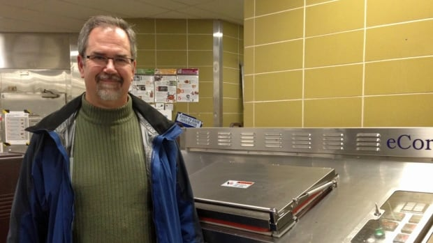 Hugh Briggs is director of the physical plant at Lakehead University in Thunder Bay. He said running a composter in the university's main kitchen keeps the food scraps out of the reach of bears.