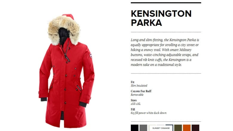 e1cf59565bb Canada Goose sues Sears over  knock-off  jackets