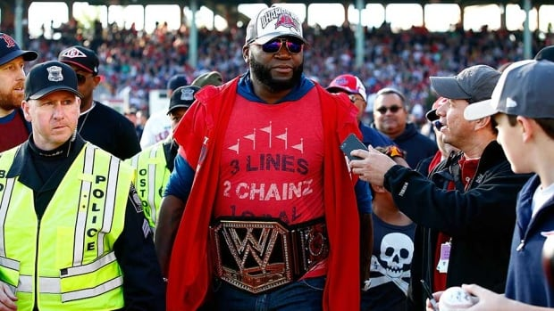 Boston Red Sox slugger David Ortiz was named World Series MVP.