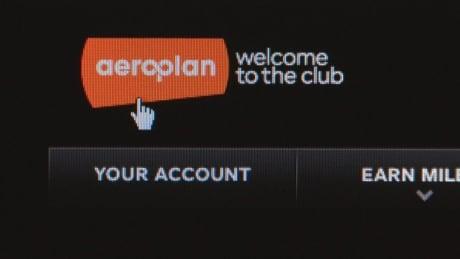 Aeroplan website