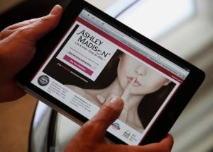 Ashley Madison tablet