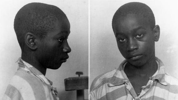 George Stinney, 14, was electrocuted just 84 days after the beating deaths of two white girls, ages 11 and 7.