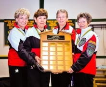 Canadian Master's Ladies Champions (Nov. 10, 2013)