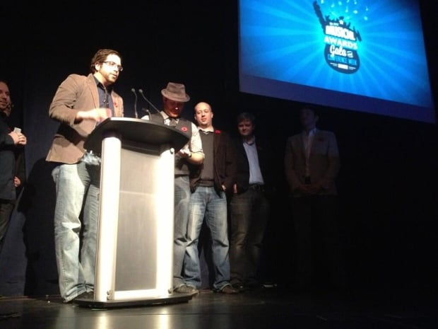 The Rolling Kings at MusicNL awards