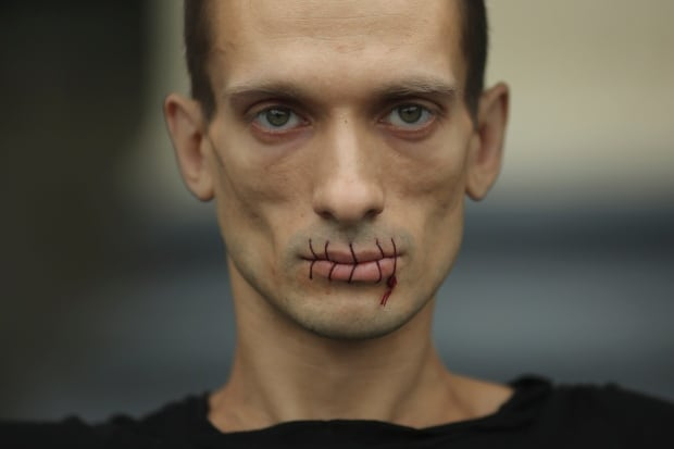 Pyotr Pavlensky-Pussy Riot