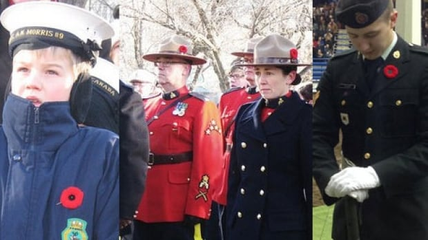 Thousands of people attended Remembrance Day ceremonies in Regina, Saskatoon and other communities.