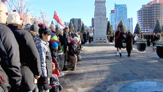 Central Memorial Park will host just one of the many Remembrance Day events around the city and across southern Alberta on Tuesday.