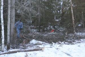 red lake bearskin crash