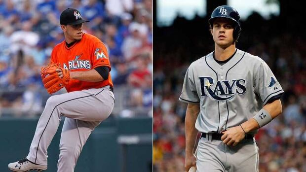 Miami Marlins pitcher Jose Fernandez and Tampa Bay Rays outfielder Wil Myers earned the NL and AL Rookie of the Year honours, respectively.