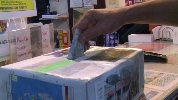 The Asian Central Store in Whitehorse is collecting donations to help victims of Typhoon Haiyan in the Philippines.