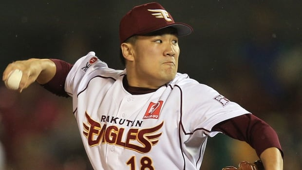 Rakuten Eagles pitcher Masahiro Tanaka might not be available to major league teams this off-season as he has yet to complete nine years of service time in Japan. Major League Baseball has withdrawn its proposal for a new bidding system for players.
