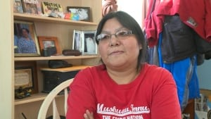 Angela Pasteen, candidate for Innu band council chief in Natuashish election 2013