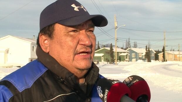 Gregory Rich, candidate for Innu band council chief in 2013 Natuashish election