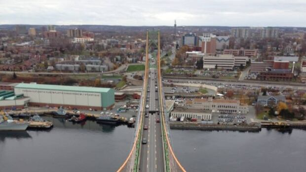 The bridge commission and Halifax Water cannot agree on an annual rent nor on who should pay for the waterline's  temporary removal during a MacDonald bridge redecking project  in 2015.