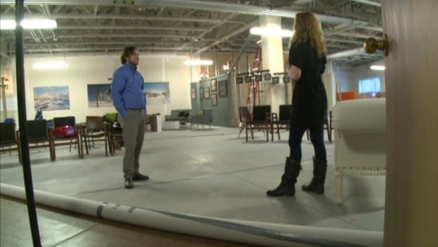 Venus in Fur will be the first performance in the Corner Brook Rotary Arts Centre, which is still under construction.