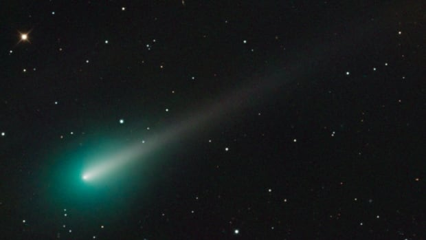 This weekend, comet Ison should be visible with binoculars before dawn, just above the star Spica in the constellation Virgo. This image of the comet was captured using the 0.8m Schulman telescope at Mount Lemmon SkyCenter at the University of Arizona on Oct. 8.