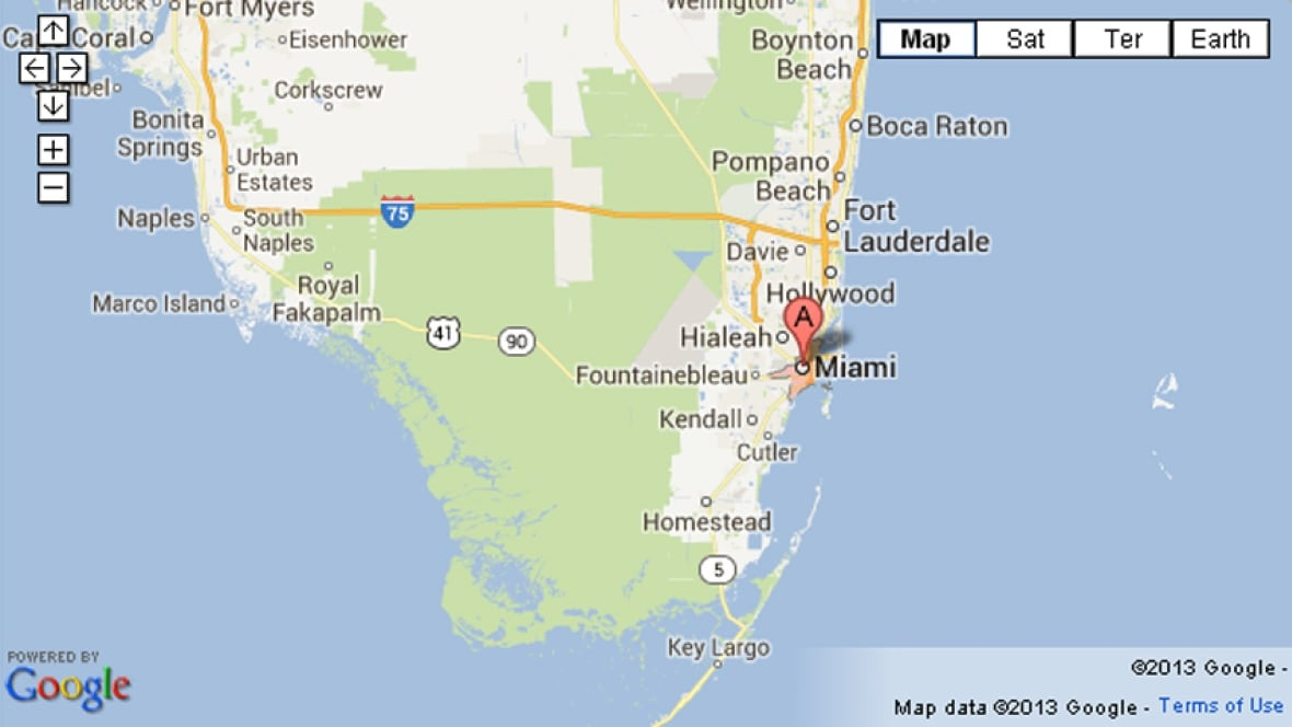 Man falls out of private plane into Atlantic south of Miami