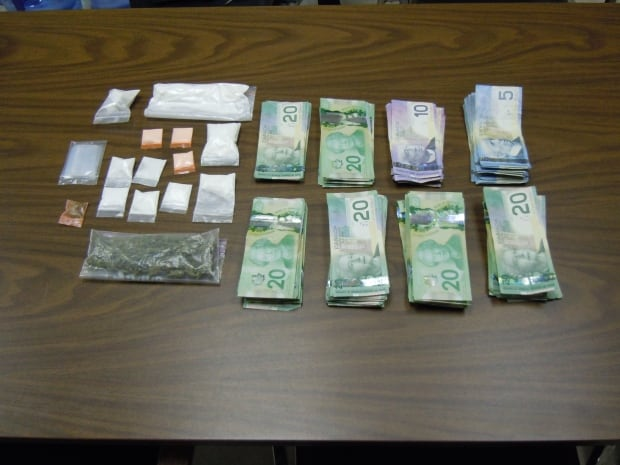 Drugs seized in New-Wes-Valley