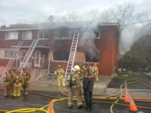 Booth Street fire (Nov. 17, 2013)