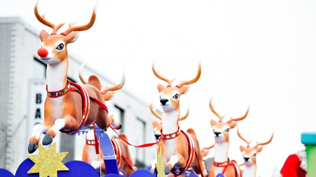 In most depictions, Santa Claus's reindeer have antlers.