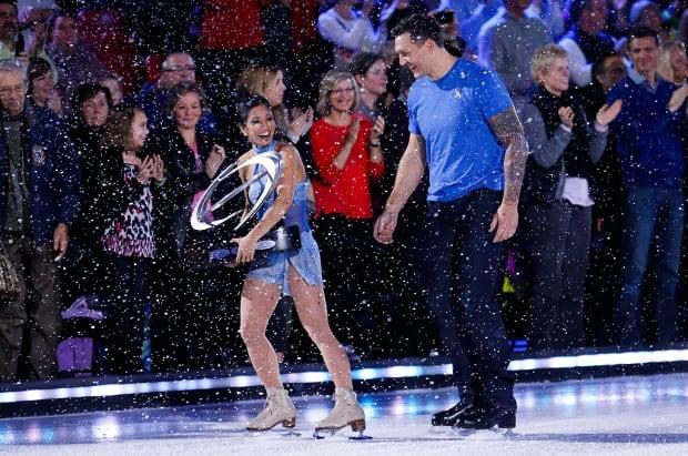 Amanda Evora and Scott Thornton
