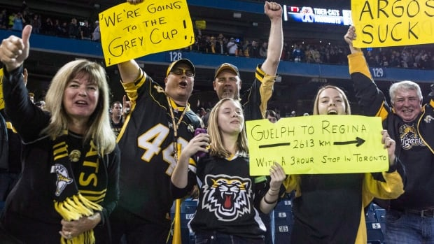 Hamilton Tiger-Cats fans heading to Regina for the 101st Grey Cup will have plenty of logistics to sort out this week.