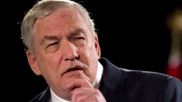 Conrad Black speaks in Toronto on June 22, 2012.  A three-justice panel of the Federal Court of Appeal has denied Black's application to personally address a council that will recommend whether he should have his Order of Canada removed.