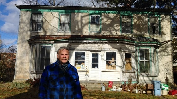 Joe Johnson grew up in this home, known both as Locust Lawn and the Jones House. Now that his brother has died, the family is preparing to sell it.
