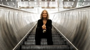 Writer, feminist and activist Gloria Steinem is pictured during a visit to Toronto in September 2011. On Monday, she was in Washington, D.C. and weighed in on the recent controversy around Liberal Leader Justin Trudeau's event for women.