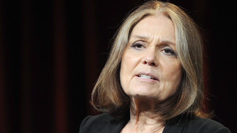 Gloria Steinem, photographed at an event in California in 2011, was in Washington, D.C. Monday and delivered a talk at the National Press Club. Afterwards she weighed in on the recent controversy around Liberal Leader Justin Trudeau's women-only fundraiser during an interview with CBC News.