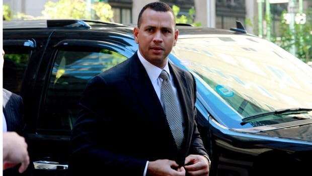 In this Oct. 1, 2013, file photo, New York Yankees slugger Alex Rodriguez arrives at the offices of Major League Baseball for a grievance hearing in New York.