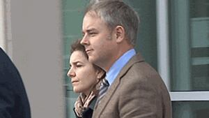 Dennis Oland and his wife, Lisa Oland